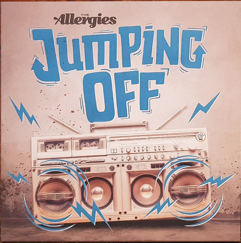 "The Allergies ‎– Jumping Off : Jalapeno Records ‎– JAL345V : Vinyl, 7"", 45 RPM, Single, Limited Edition, Stereo"