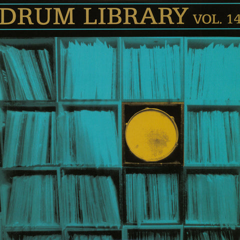 J Paul Nice* ‎– Drum Library Vol. 14 : Super Break Records ‎– DL014 : Vinyl, LP, Limited Edition