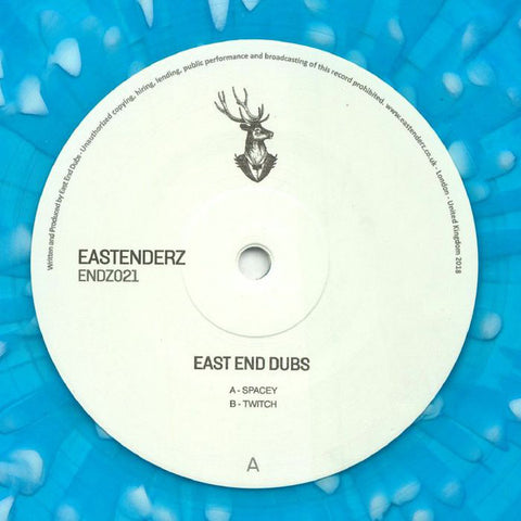"East End Dubs ‎– Endz021 : Eastenderz ‎– ENDZ021 : Vinyl, 12"", EP"