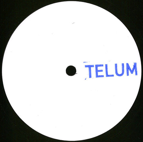 "Unknown Artist ‎– Untitled EP : Telum ‎– TELUM002 : Vinyl, 12"", EP, Limited Edition"