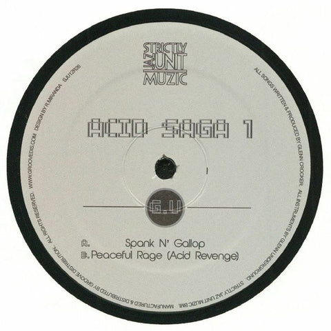 G.U* ‎– Acid Saga 1 : Strictly Jaz Unit Muzic ‎– SJU12R26 : Vinyl, 12""