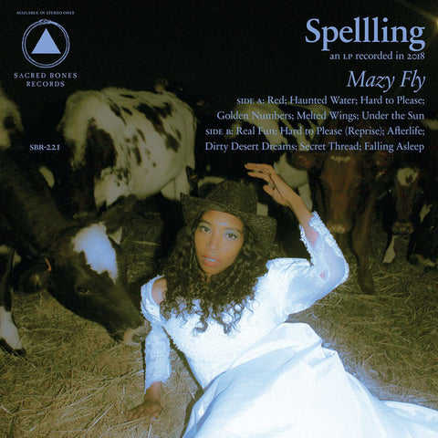 Spellling ‎– Mazy Fly : Sacred Bones Records ‎– SBR-221 : Vinyl, LP, Album, Limited Edition, Blue