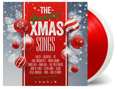 Various Artists - The Greatest Xmas Songs [2LP] (LIMITED 1 WHITE LP & 1 RED LP 180 Gram Audiophile Vinyl, insert, limited)