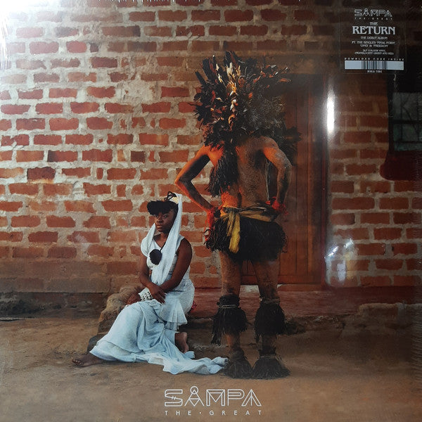 Sampa The Great ‎– The Return : Ninja Tune ‎– ZEN258 : 2 × Vinyl, LP, Album, Limited Edition, Green Translucent, Red Translucent