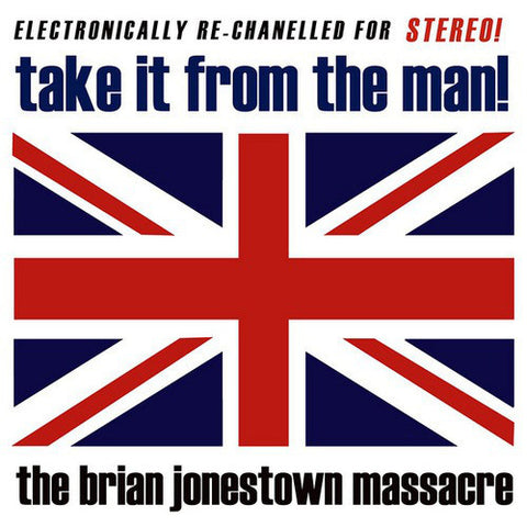 The Brian Jonestown Massacre ‎– Take It From The Man! : A Records (4) ‎– auk005lp : Vinyl, LP, Red  Vinyl, LP, Blue  All Media, Album, Limited Edition, Reissue, 180 Gram