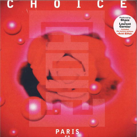 "Choice ‎– Paris EP : Wagram Music ‎– 3375156 : Vinyl, 12"", EP, Reissue"