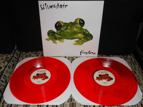 Silverchair ‎– Frogstomp : Sony Music Commercial Music Group ‎– 88765431861, SRC Vinyl ‎– SRC019 : Vinyl, LP, Orange  Vinyl, LP, Single Sided, Etched, Orange  All Media, Album, Limited Edition, Reissue, Repress