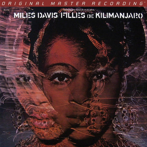 "Miles Davis ‎– Filles De Kilimanjaro : Mobile Fidelity Sound Lab ‎– MFSL 2-438 : 2 × Vinyl, 12"", 45 RPM, Album, Limited Edition, Numbered, Remastered, 180g"