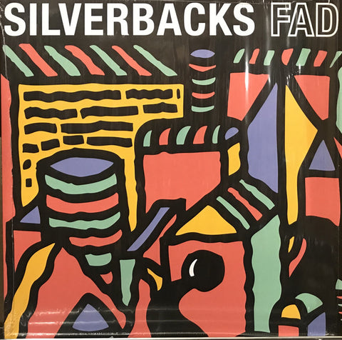 Silverbacks (2) ‎– FAD : Central Tone ‎– CENTONES001LP : Vinyl, LP, Album, Blue
