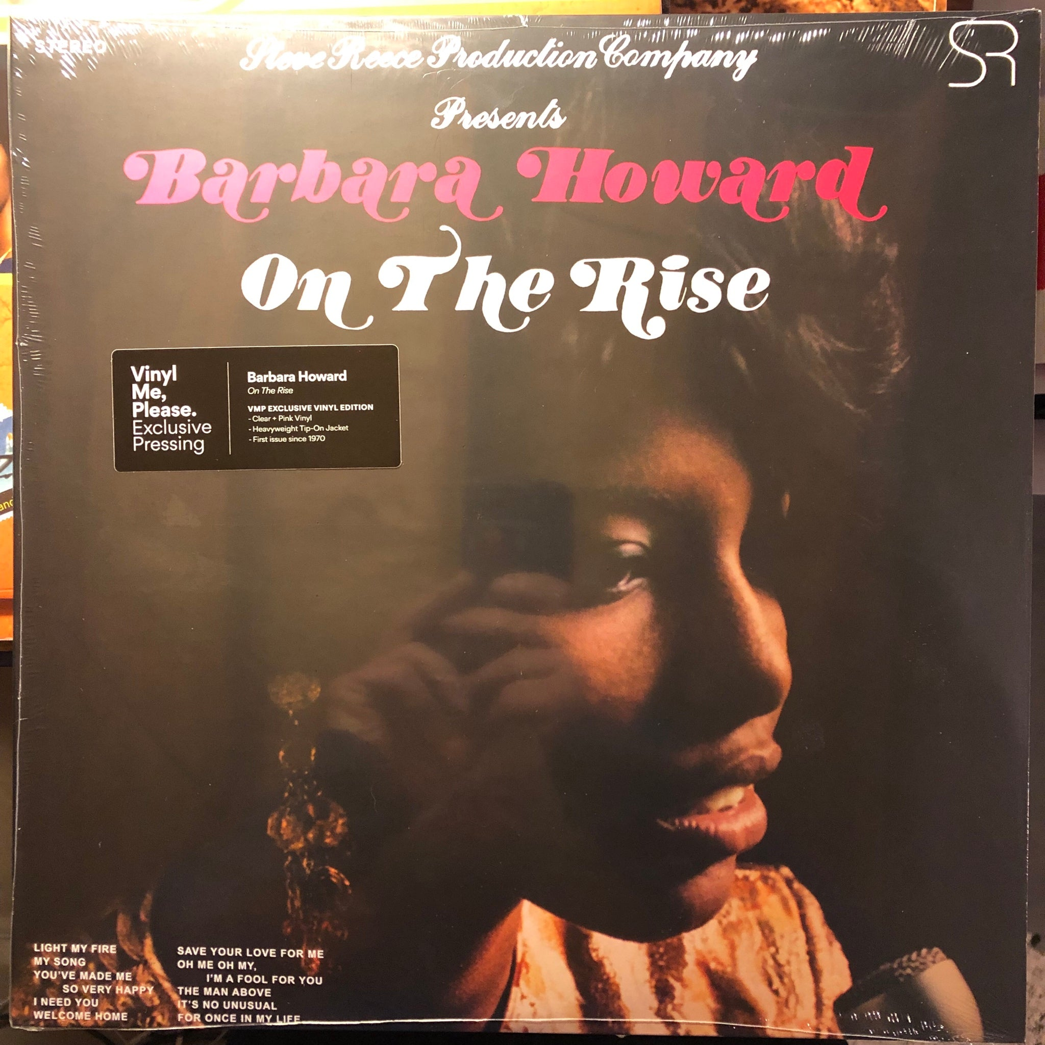 Barbara Howard ‎– On The Rise : S. Reece ‎– RMND 12002 : Vinyl, LP, Album, Club Edition, Limited Edition, Numbered, Reissue, Remastered, Stereo, Clear/Pink