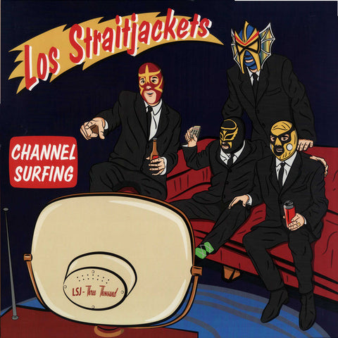 "Los Straitjackets ‎– Channel Surfing : Yep Roc Records ‎– YEP-2651 : Vinyl, 12"", 45 RPM"