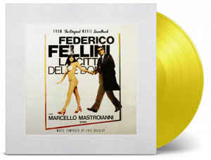Luis Bacalov, Federico Fellini ‎– La Citta' Delle Donne : Music On Vinyl ‎– MOVATM005 : At The Movies – : Vinyl, LP, Album, Limited Edition, Numbered, Reissue, Yellow