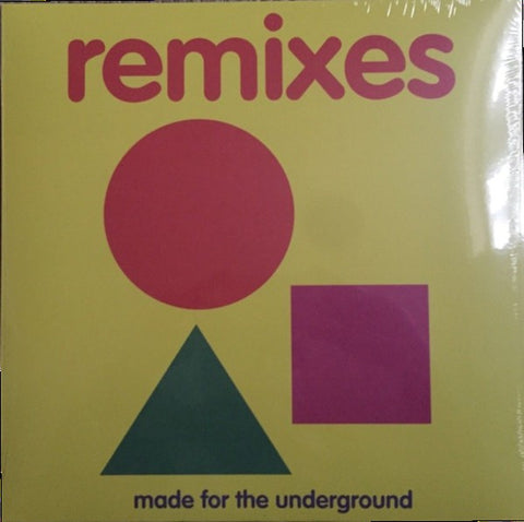 Jazz Spastiks & Penpals* ‎– Made For The Underground Remixes : HHV ‎– HHV762 : 2 × Vinyl, LP, Album, Limited Edition