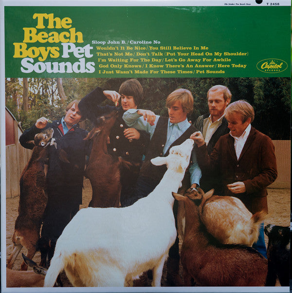"The Beach Boys ‎– Pet Sounds : Analogue Productions ‎– APP 067M-45, Universal Music Special Markets ‎– B0019910-01, Capitol Records ‎– T 2458 : 2 × Vinyl, 12"", 45 RPM, Album, Deluxe Edition, Limited Edition, Reissue, Remastered, Mono, 200 Gram"
