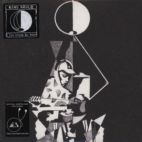 "King Krule ‎– 6 Feet Beneath The Moon : True Panther Sounds ‎– TRUE-101-1 : 2 × Vinyl, 12"", Album"