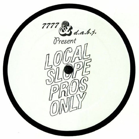 Jared Wilson Local Slope Pros Only - 7777 014 - Vinyl, 12""