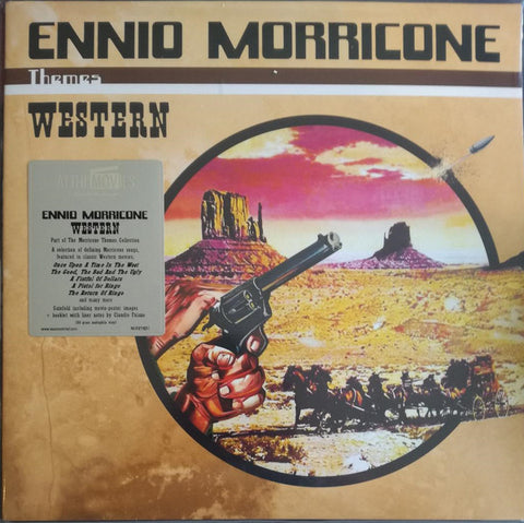 Ennio Morricone ‎– Western : Music On Vinyl ‎– MOVATM257 Series: At The Movies – , The Morricone Themes Collection – 1 : 2 × Vinyl, LP, Compilation, 180 gram