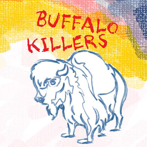 Buffalo Killers ‎– Buffalo Killers : Alive Records ‎– ALIVE 0070-1 : Vinyl, LP, Album, Limited Edition, Orange Swirl