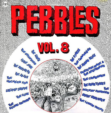 Various ‎– Pebbles Vol. 8 : BFD Records ‎– BFD-5025 Series: Pebbles – Vol. 8 : Vinyl, LP, Compilation, Reissue,