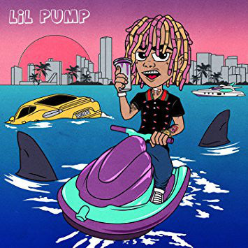 Lil Pump ‎– Lil Pump : Warner Bros. Records ‎– 49747264 : Vinyl, LP, Album, Pink