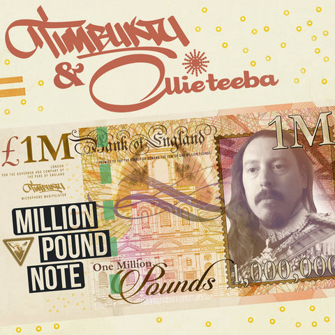 Timbuktu (2) & Ollie Teeba ‎– Million Pound Note : Urbnet Records ‎– URBNET1293LP : Vinyl, LP, Album, Limited Edition, green