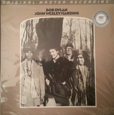 "Bob Dylan ‎– John Wesley Harding Label: Mobile Fidelity Sound Lab ‎– MFSL 2-464 Series: Original Master Recording : 2 × Vinyl, 12"", 45 RPM, Album, Limited Edition, Numbered, Reissue, Remastered, Mono, 180G Viny"