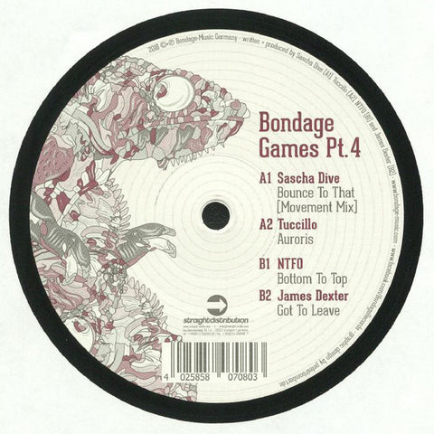 Various ‎– Bondage Games Pt. 4 : Bondage Music ‎– BOND 12043 : Vinyl, 12""