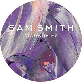 "Sam Smith (12) ‎– Stay With Me : Not On Label (Sam Smith) ‎– SAMSMITHSTAY001 : Vinyl, 12"", 33 ⅓ RPM, Unofficial Release,  CLEAR"