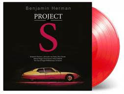 Benjamin Herman - Project S [LP] (LIMITED TRANSPARENT RED 180 Gram Audiophile Vinyl, download, brand new album for 2018, numbered to 750) MOVLP2241