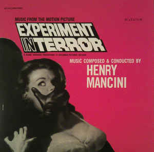 Henry Mancini ‎– Experiment In Terror (Music From The Motion Picture) : Music On Vinyl ‎– MOVATM034 : At The Movies – : Vinyl, LP, Album, Reissue