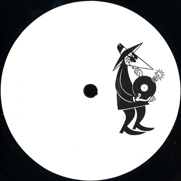 "Unknown Artist ‎– Spy Edits 01 : Spy Edits ‎– SPYEDITS01 : Vinyl, 12"", 33 ⅓ RPM, 45 RPM, EP, White Label"