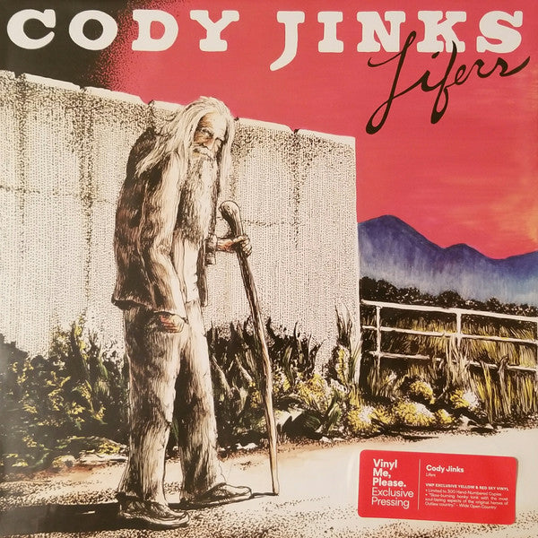 Cody Jinks ‎– Lifers : Rounder Records ‎– 1166100407 : Vinyl, LP, Album, Club Edition, Limited Edition, Numbered, Yellow With Red Splatter