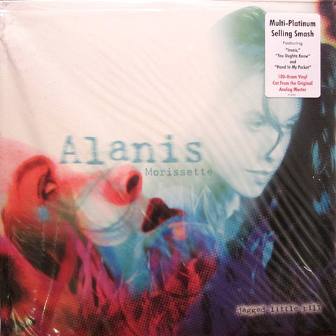 Alanis Morissette ‎– Jagged Little Pill  : Reprise Records ‎– R1-45901, Maverick ‎– R1-45901 : Vinyl, LP, Album, Remastered, 180g