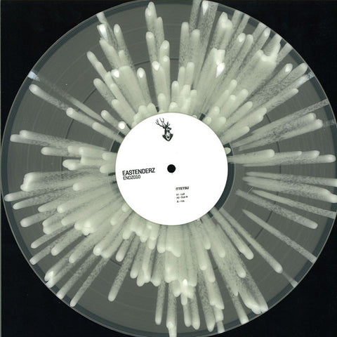 "Ittetsu ‎– Endz010  : Eastenderz ‎– ENDZ010 : Vinyl, 12"", 33 ⅓ RPM, 45 RPM, EP, Limited Edition, Clear-White Splattered"
