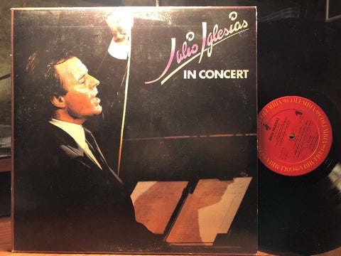 Julio Iglesias ‎– In Concert : Columbia ‎– KC2 39570 : 2 × Vinyl, LP, Album