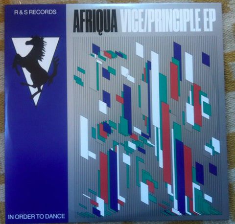 "Afriqua ‎– Vice/Principle EP : R & S Records ‎– RS1808 : 2 × Vinyl, 12"", 33 ⅓ RPM, EP"