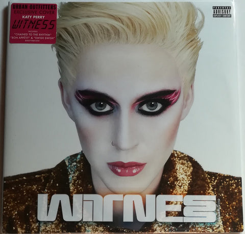 Katy Perry ‎– Witness : Capitol Records ‎– B002719401 : 2 × Vinyl, LP, Album, Limited Edition, Exclusive Cover