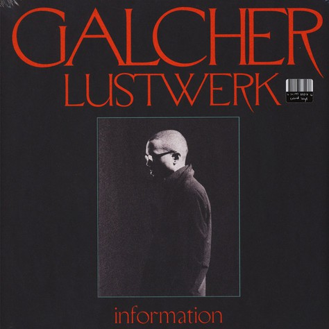 Galcher Lustwerk ‎– Information : Ghostly International ‎– GILPC1 351 : Vinyl, LP, Album, Blue Smoked Vinyl