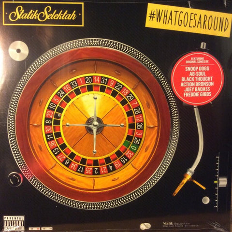 DJ Statik Selektah - What Goes Around - Duck Down, Showoff Records - DDM LP 2375 - 2xLP, Album