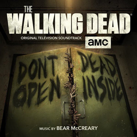 Bear McCreary ‎– The Walking Dead (Original Television Soundtrack) : Lakeshore Records ‎– LKS35033 : 2 × Vinyl, LP, Limited Edition, Green Marble, Gatefold