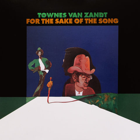 Townes Van Zandt ‎– For The Sake Of The Song : Fat Possum Records ‎– FP1087-3 Series: Vinyl Me, Please. Essentials – E070 : Vinyl, LP, Album, Club Edition, Reissue, Remastered, 180 Grams, Translucent Blue, 50th Anniversary Edition