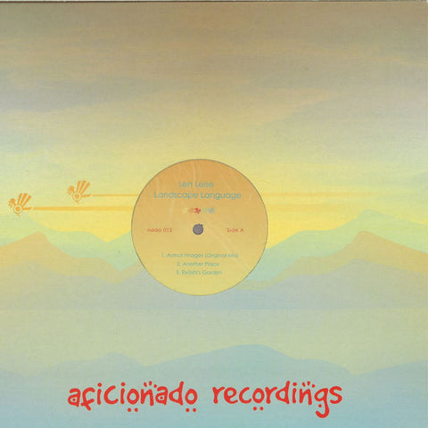 "Len Leise ‎– Landscape Language : Aficionado Recordings ‎– nado 012 : Vinyl, 12"", Repress"
