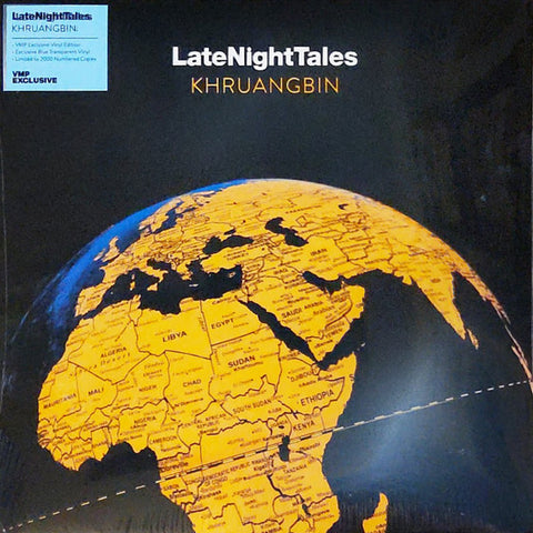 Khruangbin ‎– LateNightTales : LateNightTales ‎– ALNLP60VMP Series: Vinyl Me, Please. Exclusive Pressing – : 2 × Vinyl, LP, Compilation, Club Edition, Limited Edition, Numbered, Blue Transparant