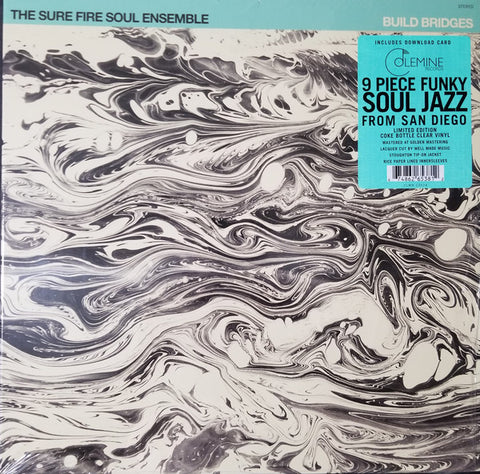The Sure Fire Soul Ensemble ‎– Build Bridges : Colemine Records ‎– CLMN - 12024 : Vinyl, LP, Album, Limited Edition, Stereo, Coke Bottle