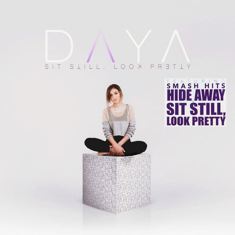 Daya (3) ‎– Sit Still, Look Pretty : Artbeatz ‎– none, Z Entertainment ‎– none : 2 × Vinyl, LP, Album, Limited Edition, Lavender