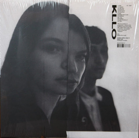 Kllo* ‎– Maybe We Could : Ghostly International ‎– GI-367 : Vinyl, LP, Limited Edition, Black in Clear