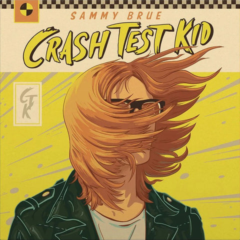 Sammy Brue ‎– Crash Test Kid : New West Records ‎– NW5326 : Vinyl, LP, Album, Red Splatter Colored Vinyl