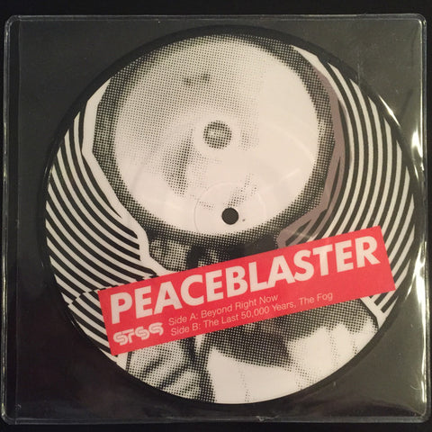 "Sound Tribe Sector 9 ‎– Peaceblaster 7"" : 1320 Records ‎– NA : Vinyl, 7"", Picture Disc, Stereo"