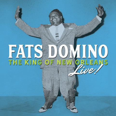 Fats Domino - The King Of New Orleans Live! - Sunset Blvd SBR-7922 - 3xCD, Compilation