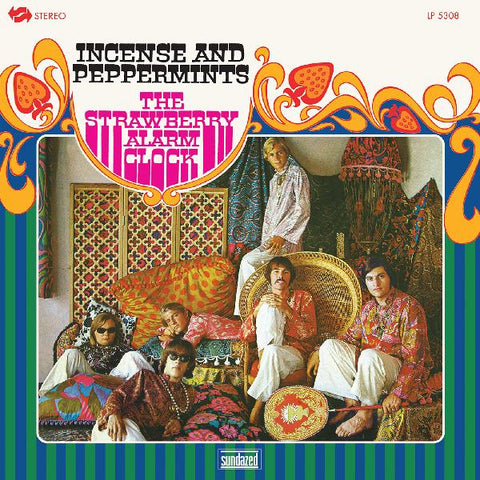 Strawberry Alarm Clock, The - Incense and Peppermints (Blotter Blue Vinyl) : Sundazed LP-SUND-5308X - Vinyl, LP